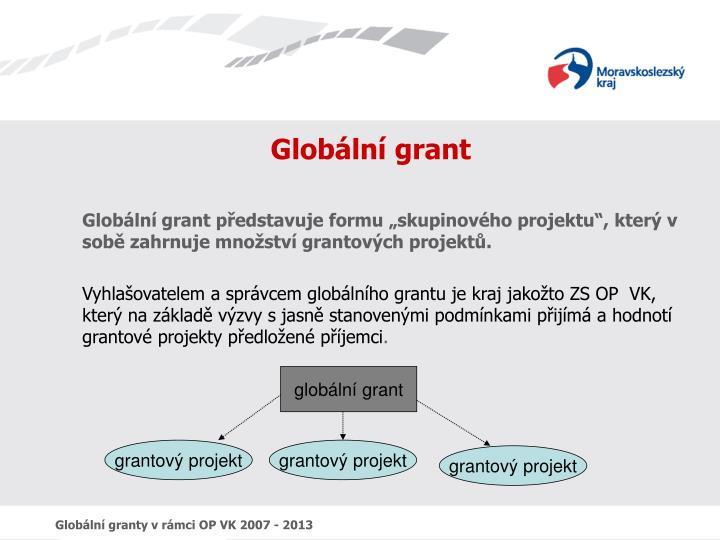 Globální grant
