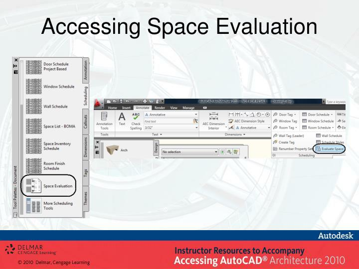 Accessing Space Evaluation