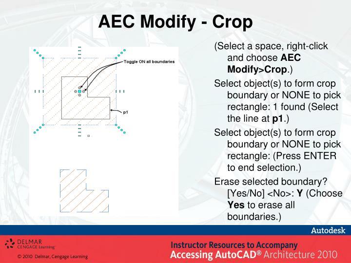 AEC Modify - Crop