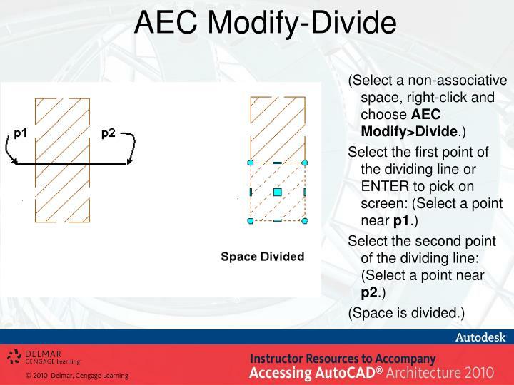AEC Modify-Divide