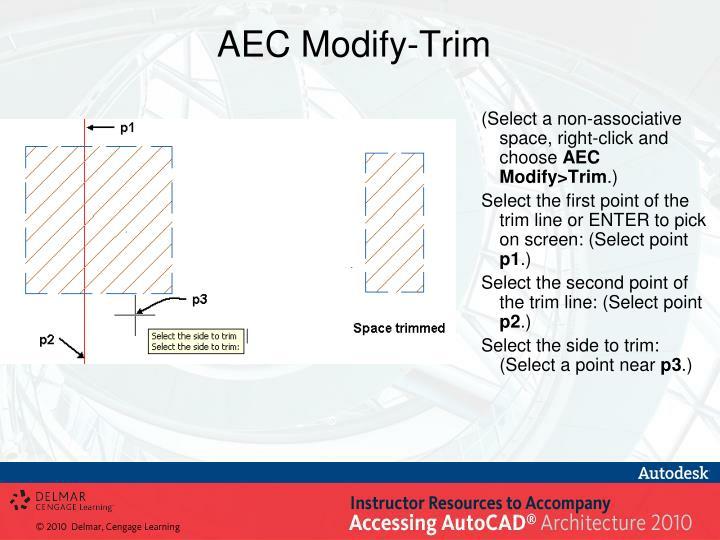 AEC Modify-Trim