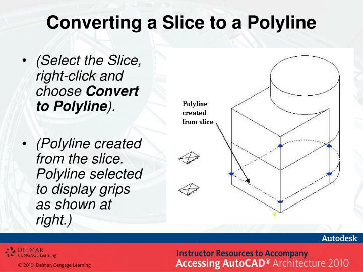 Converting a Slice to a Polyline