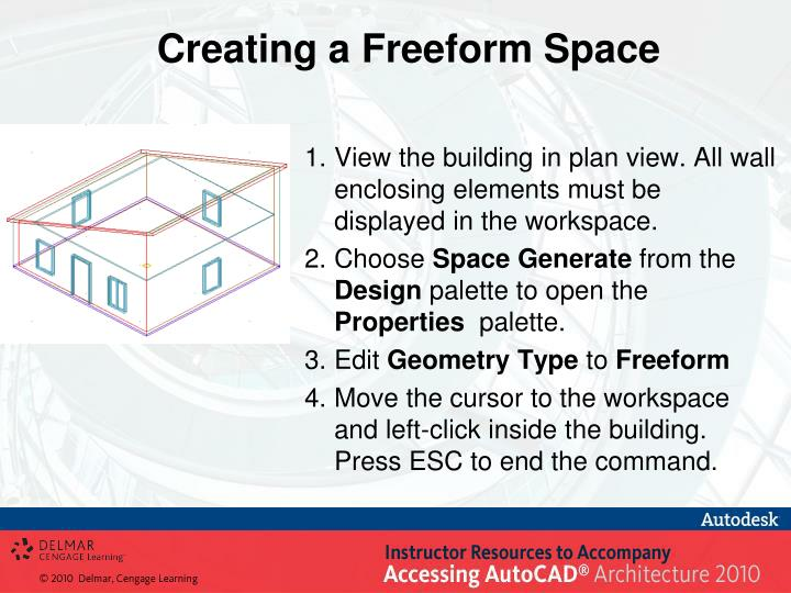 Creating a Freeform Space