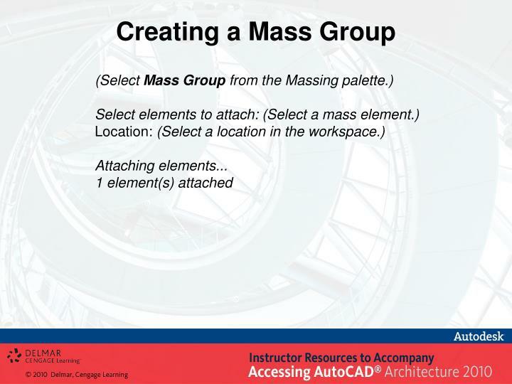 Creating a Mass Group