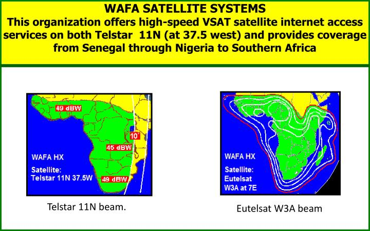 WAFA SATELLITE SYSTEMS