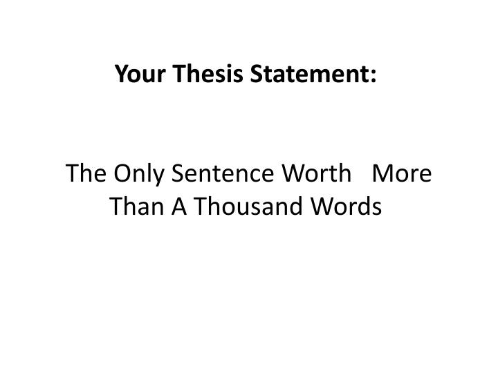 decide if the thesis statement is effective memorable fun tk decide if the thesis statement is effective