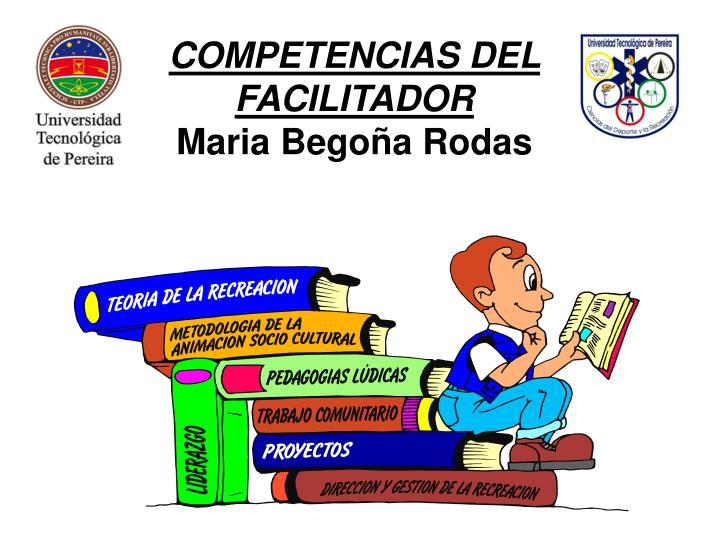 COMPETENCIAS DEL FACILITADOR