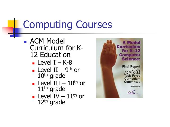 Computing Courses
