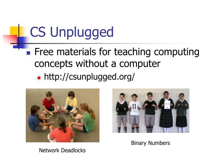 CS Unplugged