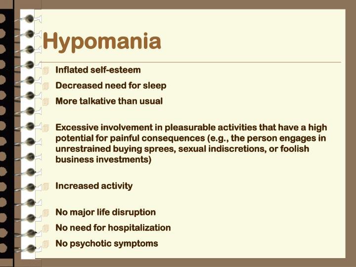 Hypomania