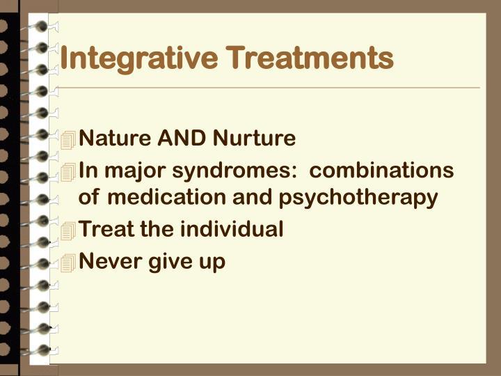 Integrative Treatments