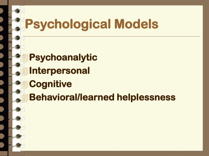 Psychological Models