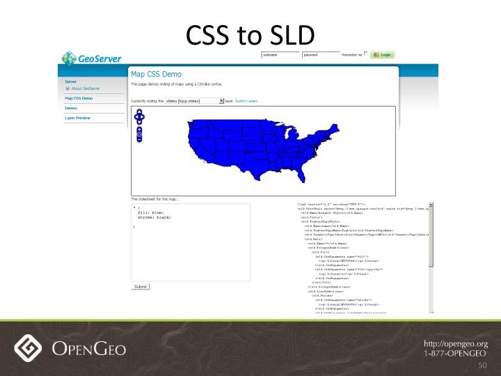 CSS to SLD