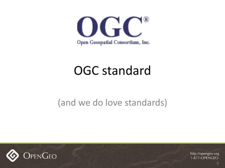 OGC standard
