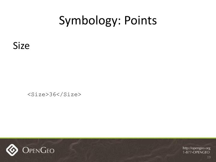 Symbology: Points