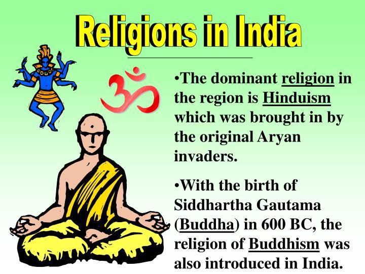 Religions in India