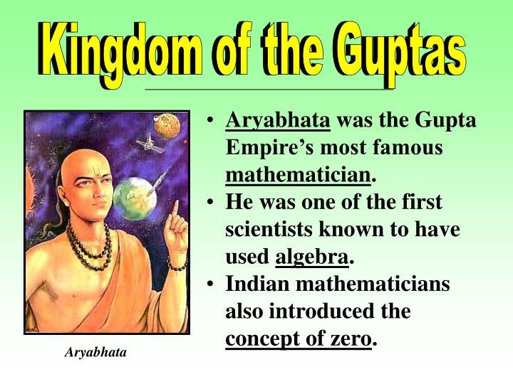 Kingdom of the Guptas