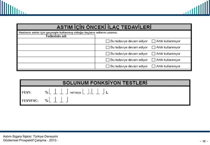 Astım-Sigara İlişkisi: Türkiye Deneyimi