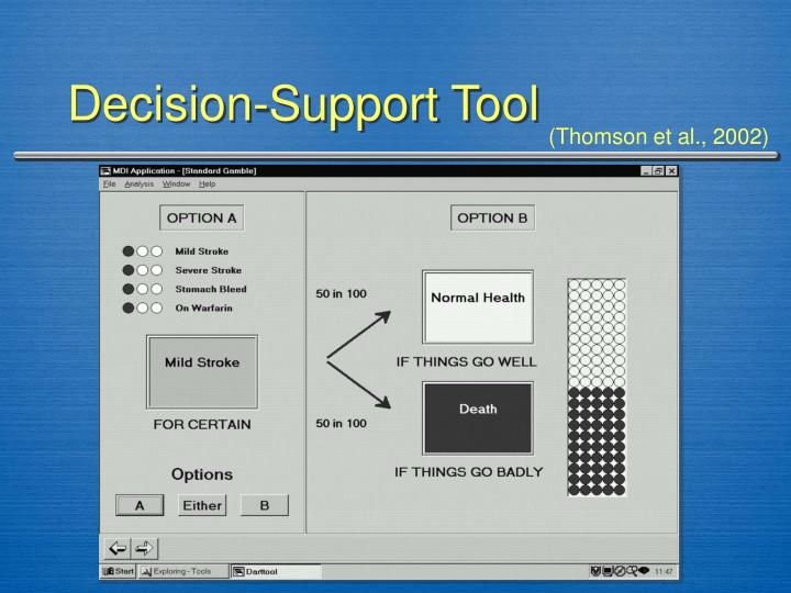 Decision-Support Tool