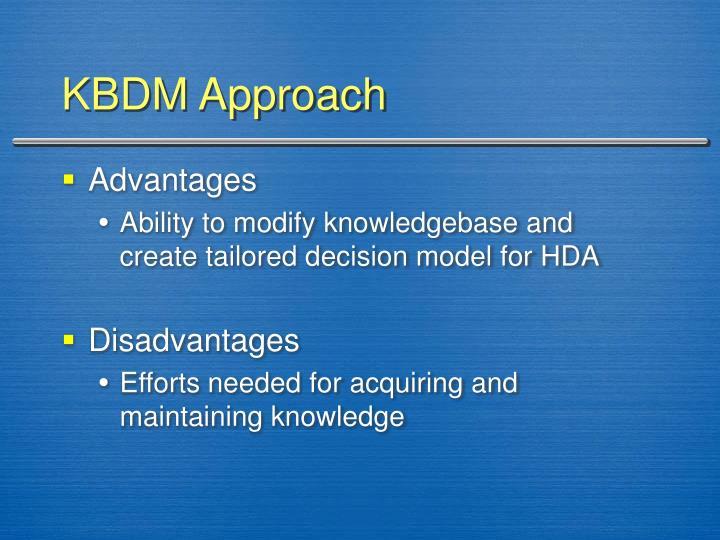 KBDM Approach