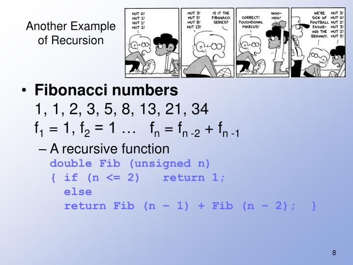 Another Example of Recursion