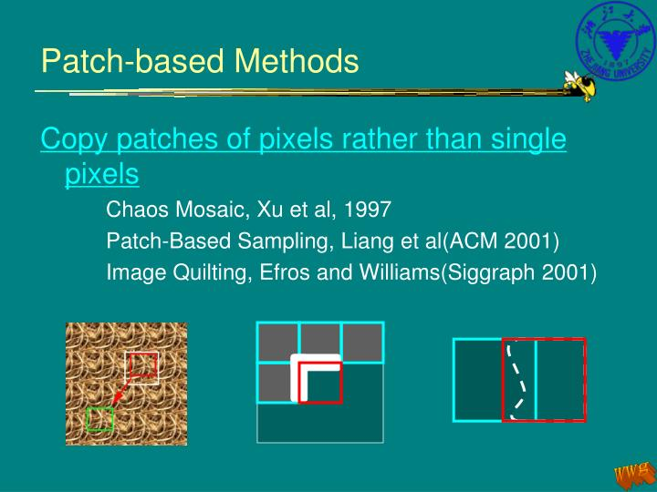 Patch-based Methods
