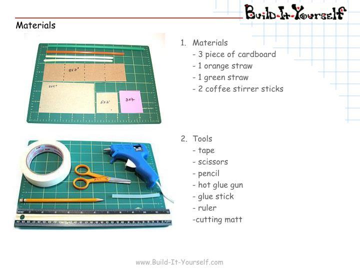 1.Materials