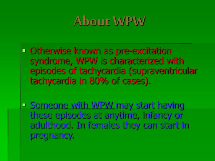 About WPW