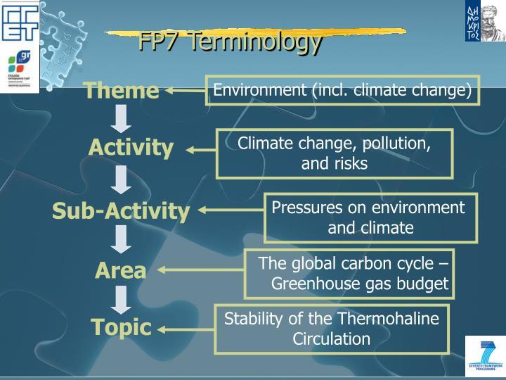 FP7 Terminology