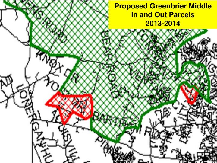Proposed Greenbrier Middle