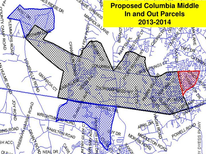 Proposed Columbia Middle