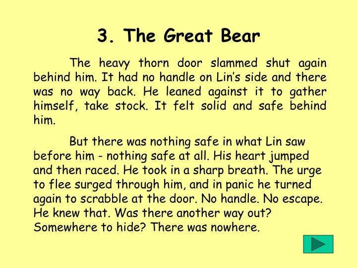 3. The Great Bear