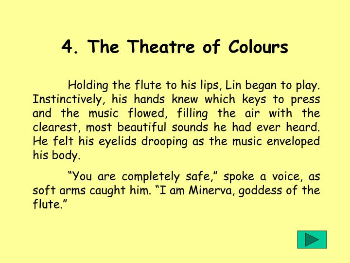 4. The Theatre of Colours