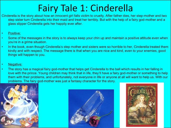 Fairy Tale 1: Cinderella