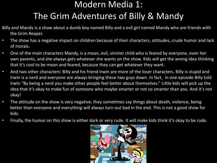 Modern Media 1:
