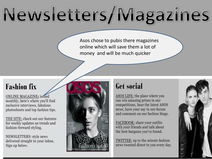 Newsletters/Magazines