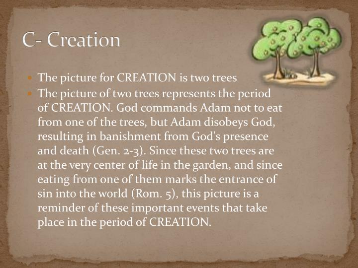 C- Creation