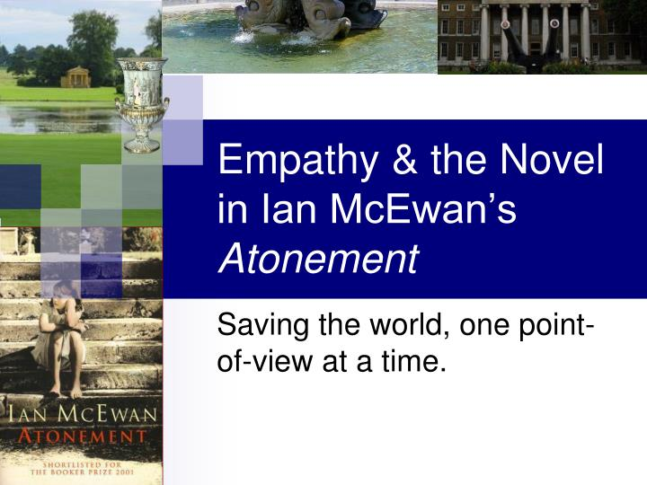 Empathy the novel in ian mcewan s atonement