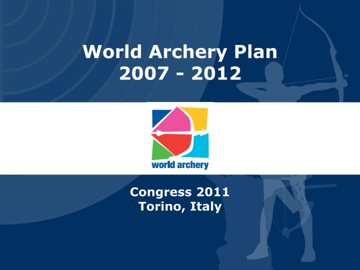 World Archery Plan