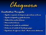 chequera