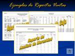ejemplos de reportes ventas