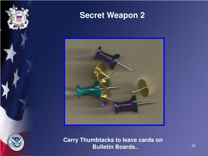 Secret Weapon 2