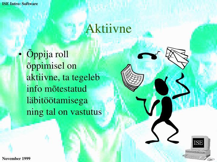 Aktiivne