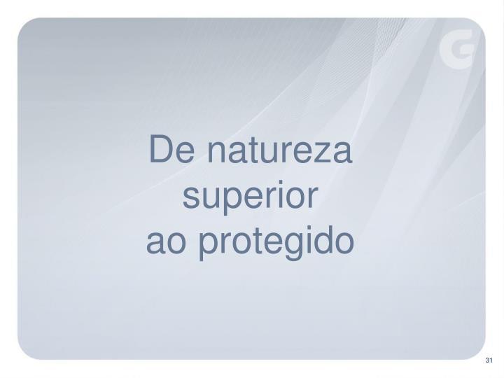 De natureza