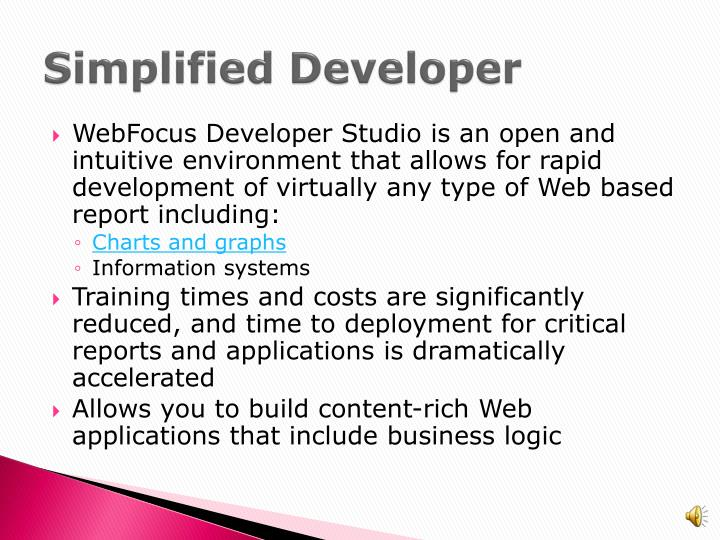 Simplified Developer