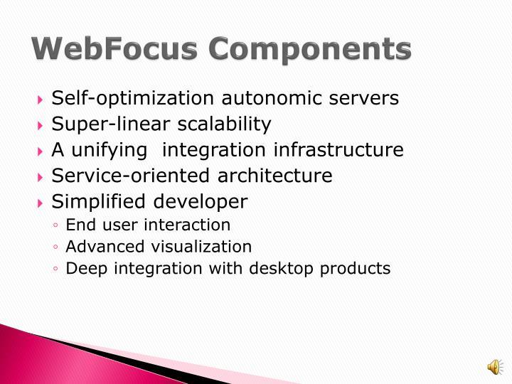 WebFocus Components
