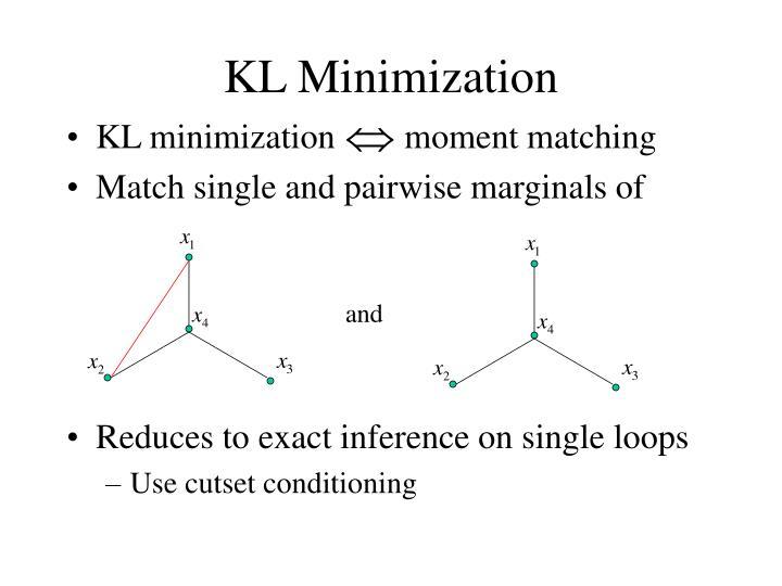 KL Minimization
