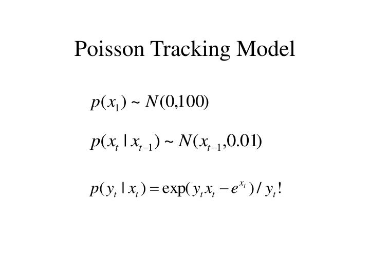 Poisson Tracking Model