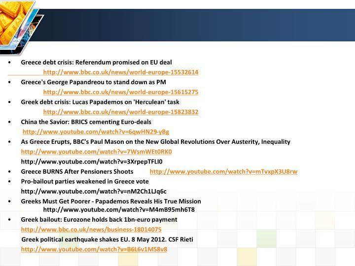 Greece debt crisis: Referendum promised on EU deal