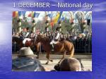 1 december national day